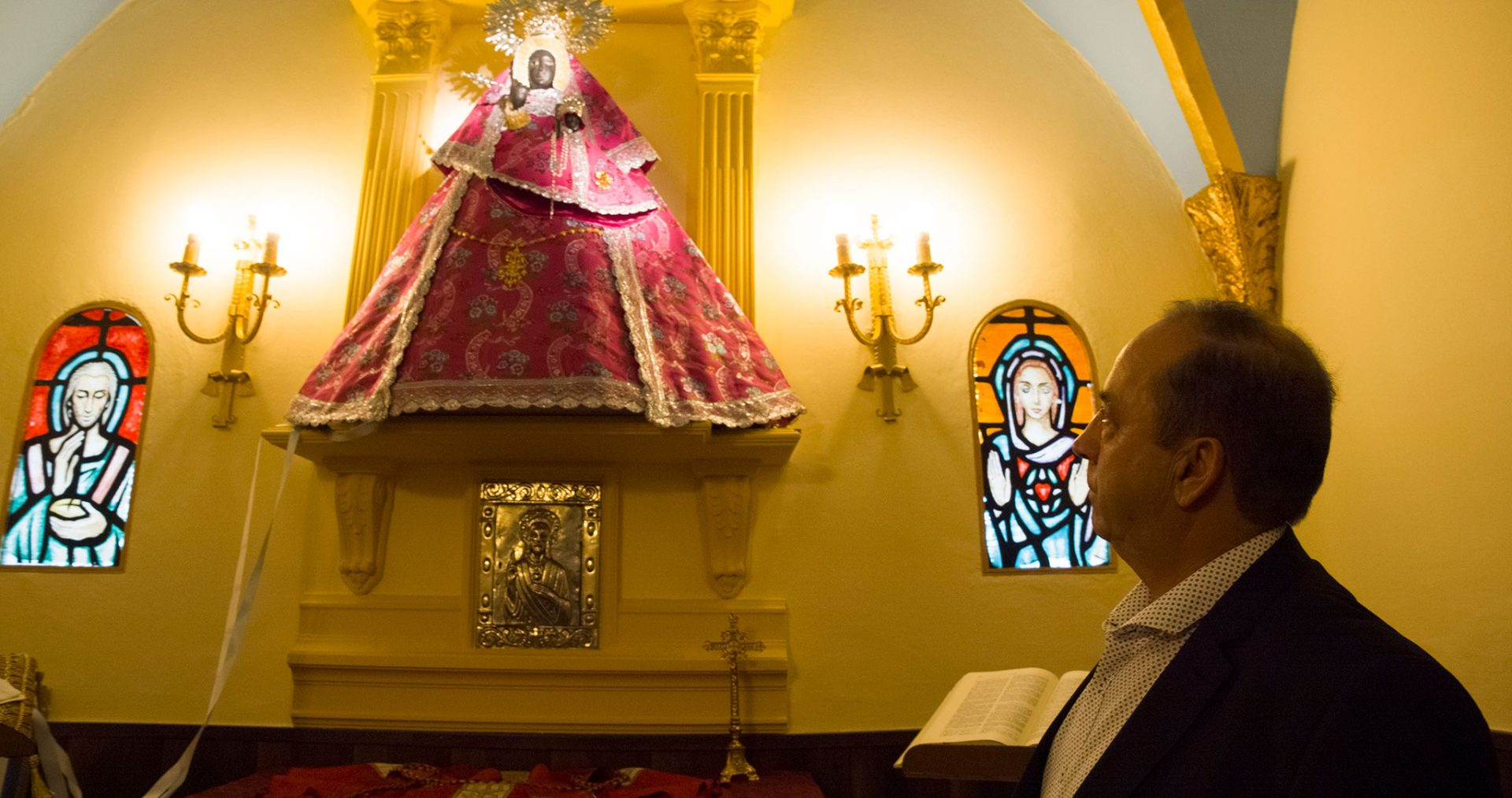Réplica de la Virgen de Guadalupe en Carrascalejo
