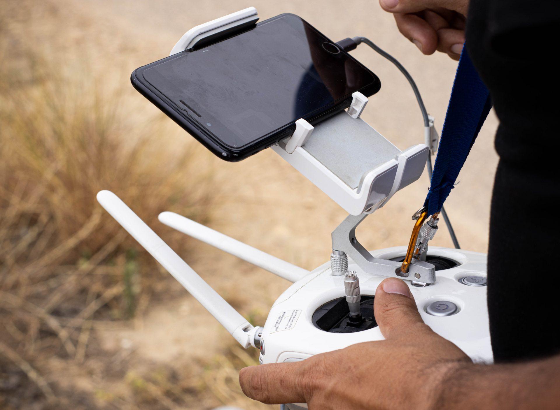 Controle remoto drone
