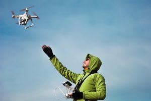 Dron con control remoto